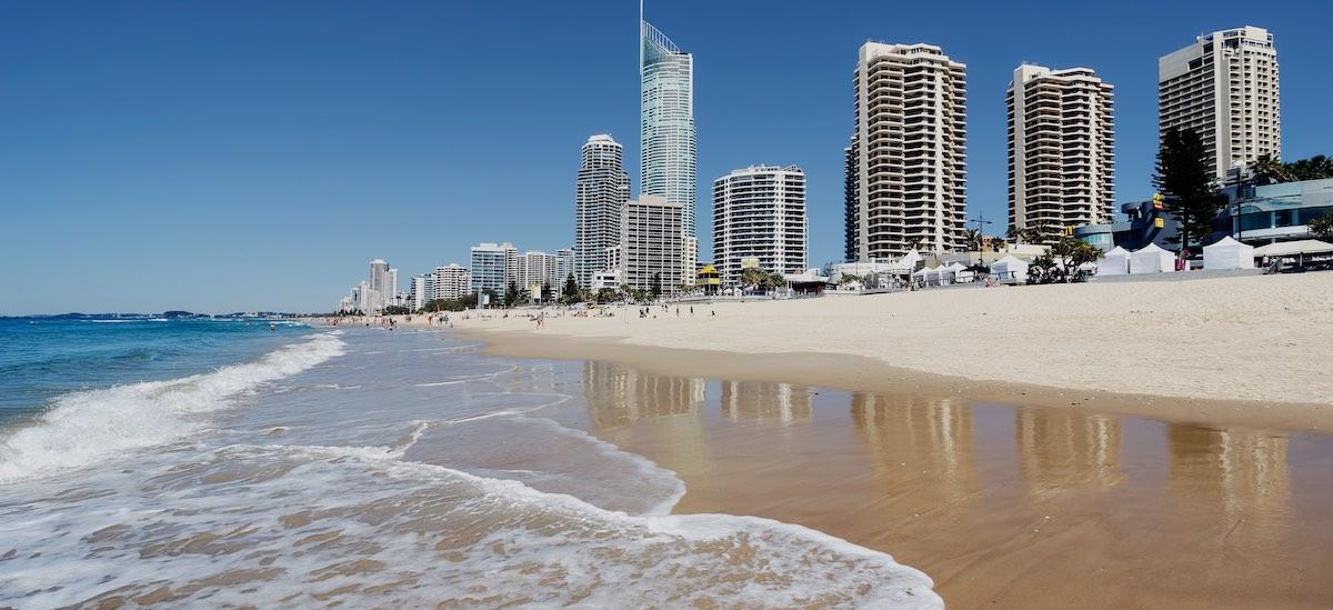 Surfers Paradise Beach Gold Coast Australia